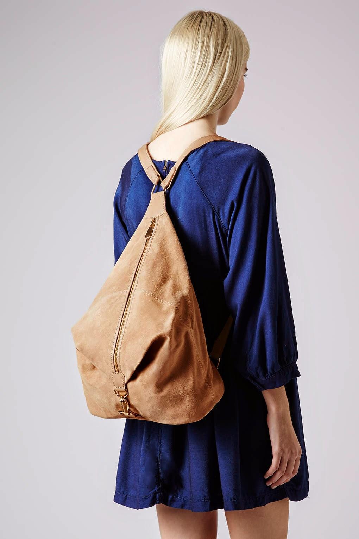 suede rucksack