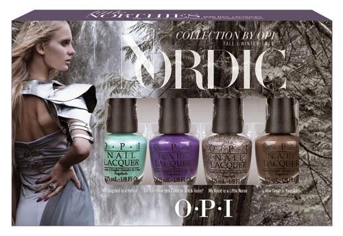 mini kit nordic collection opi