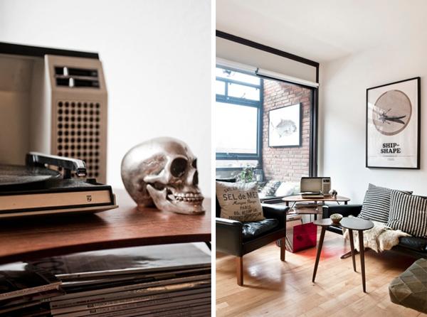 Stranger than vintage monday design skull home decor for Skull home decor