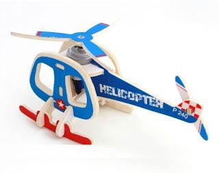 Helicóptero Solar para Construir