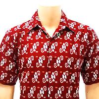 BP2706 - Model Baju Kemeja/Hem Batik Pria Terbaru 2013