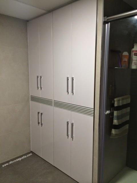 Armario lavadora y secadora adjuntare foto real ahora - Mueble lavadora secadora ...