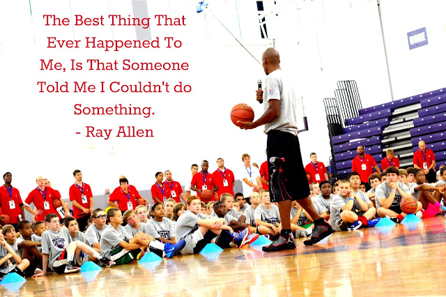 Ray Allen Quote About Basketball