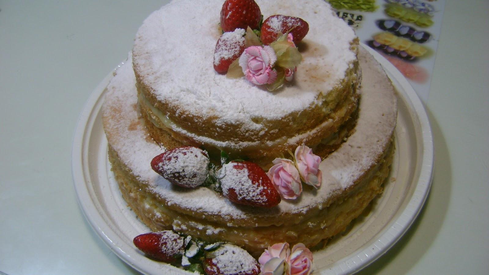 Artesanato Doce: Naked cake ou o bolo pelado