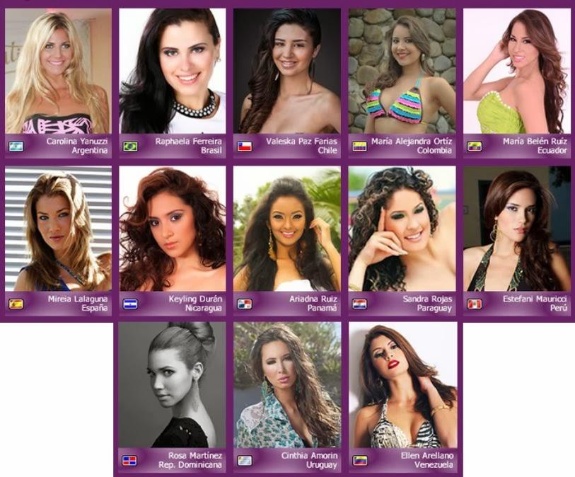 Miss Atlántico Internacional 2014,