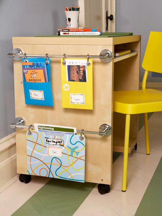 Modern furniture back to school organizing tips 2013 ideas - School desk organization ideas ...
