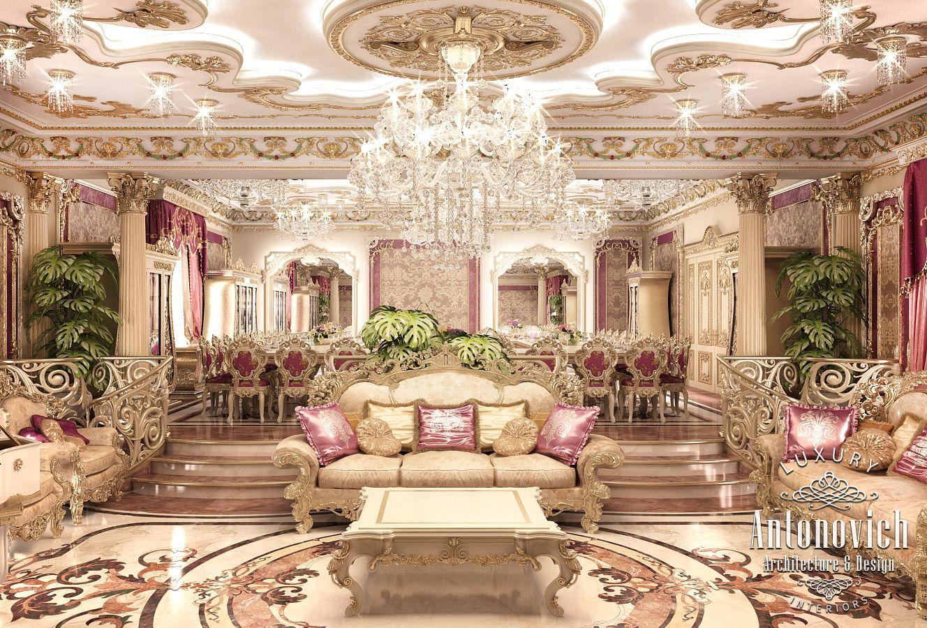 Luxury antonovich design uae 2015 for Villa esplanada interior design
