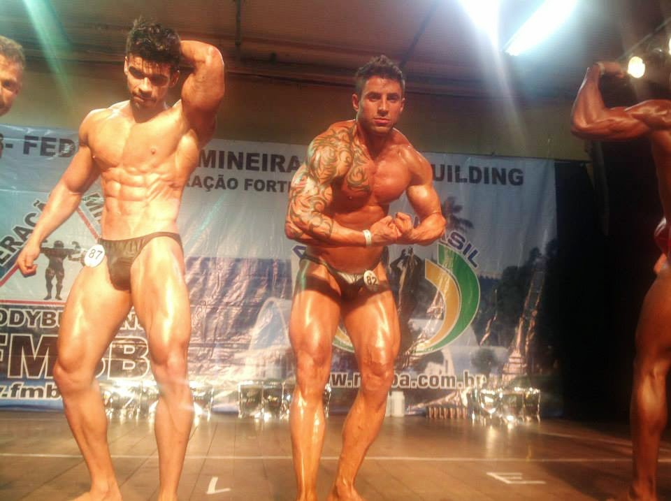 O atleta volta a competir em setembro pela IFBB na categoria Men's Physique Foto: FMBB