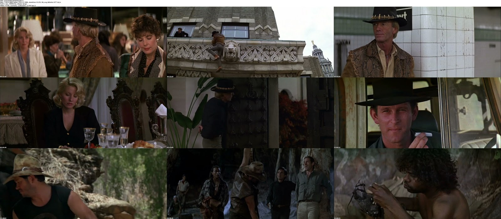 movie screenshot of Crocodile Dundee II fdmovie.com