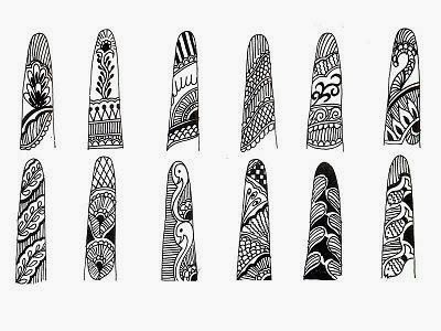 Mehndi Designs For Fingers Step By Step : Mehndi designs for fingers 2013