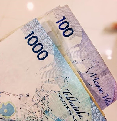 1000 peso banknote has same shading as P100 bill