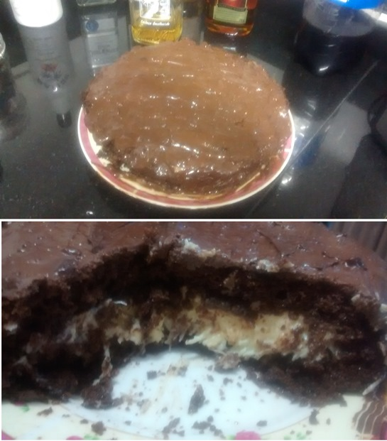 Bolo de Chocolate Prestígio
