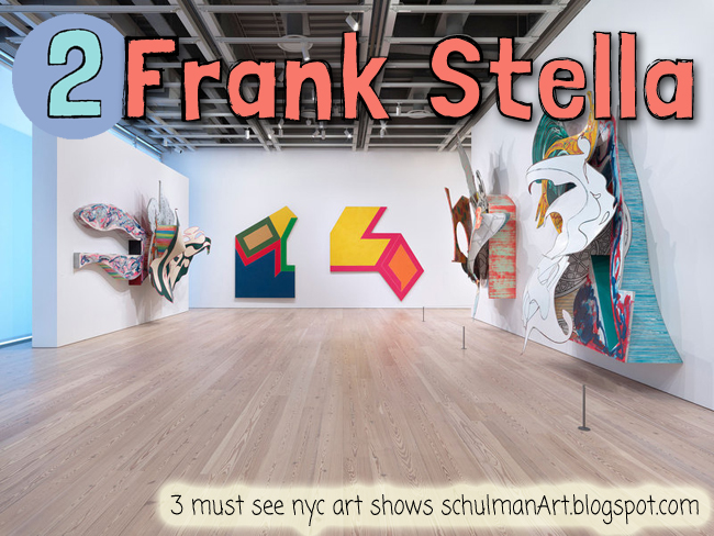 frank stella at the whitney museum  is one of 3 must see new york city art shows 2015 http://schulmanart.blogspot.com/2015/12/3-must-see-art-exhibitions-in-nyc.html