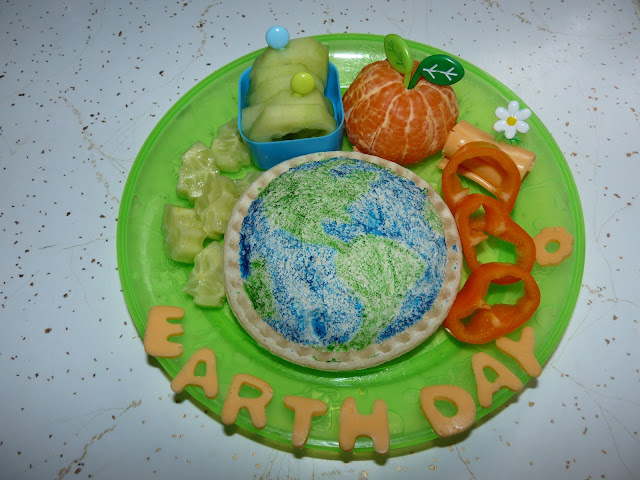 earth day sandwich lunch