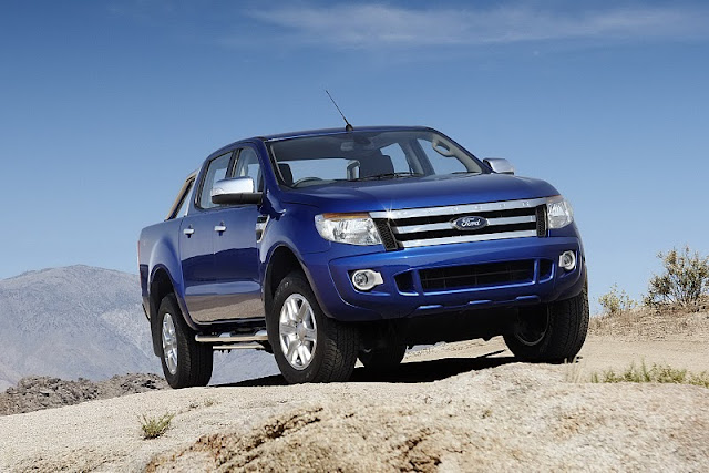ford ranger 2012 blue