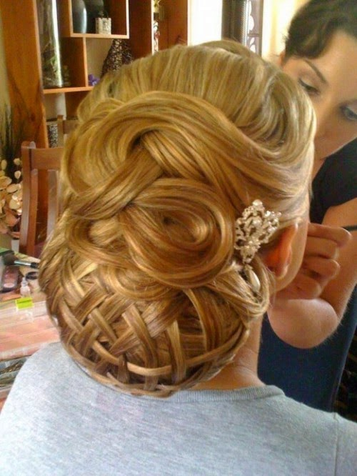 Fashion Glamour World: Stylish Western Wedding-Bridal Hairstyles for 2015 for Brides and Night ...