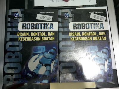 Buku Robotika Desain, Kontrol, Dan Kecerdasan Buatan