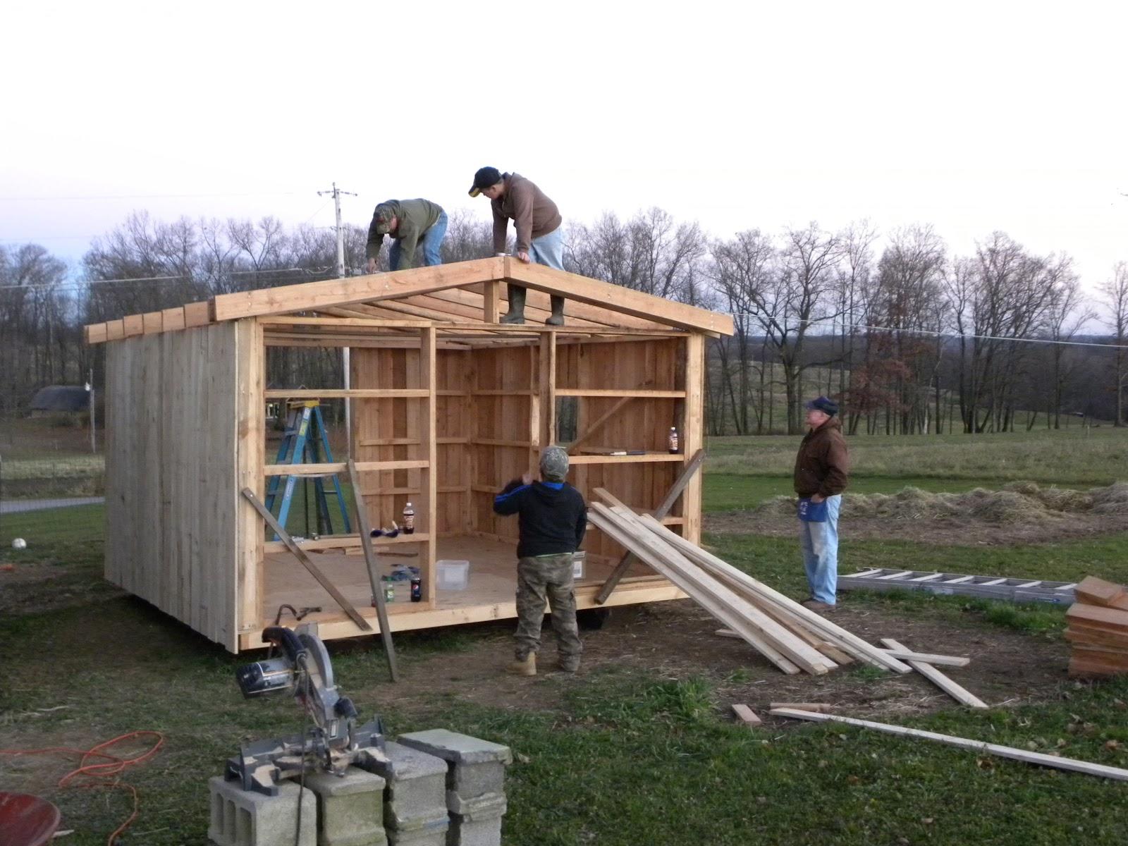Schick Fun Ideas Building A Goat Shed