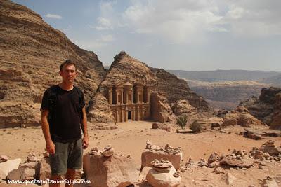 Monasterio de Petra - Viaje a Jordania
