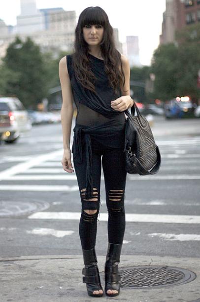 L A Street Fashion Fashion Style Grunge