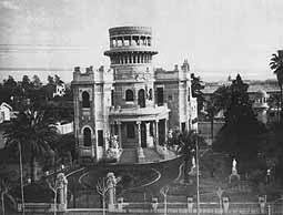 Palacio  Carú - Av. Rivadavia y Añasco -actual Nicolás Repetto-, Barrio del Caballito. Año 1967.