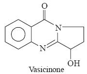 Vasicinone