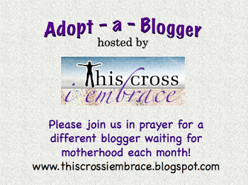 http://www.thiscrossiembrace.blogspot.com/2013/01/adopt-blogger.html