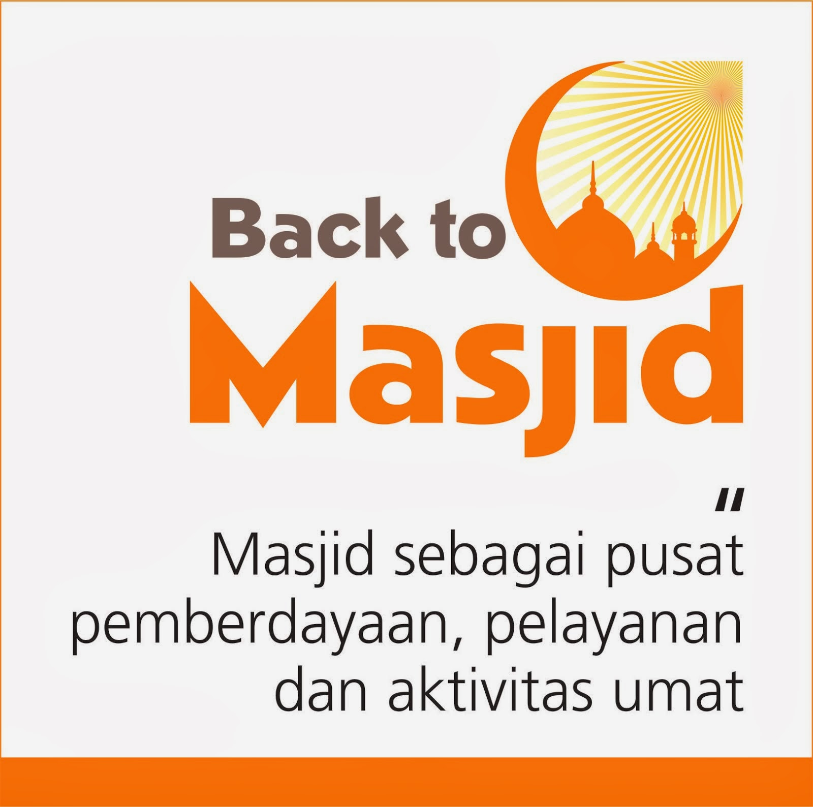 BACK TO MASJID