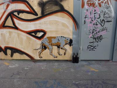 durstiger Hund, Tumblingerstraße, München