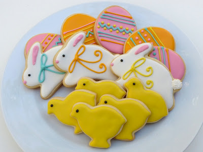 Easter Cookies by Nina's Show & Tell