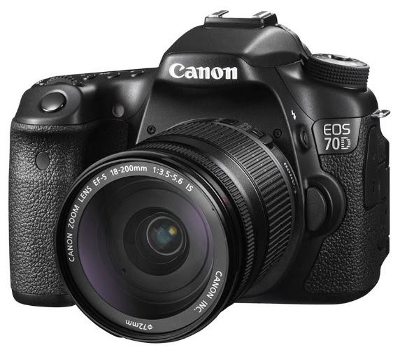 Harga dan Spesifikasi Kamera DSLR Canon EOS 70D - 20.2MP