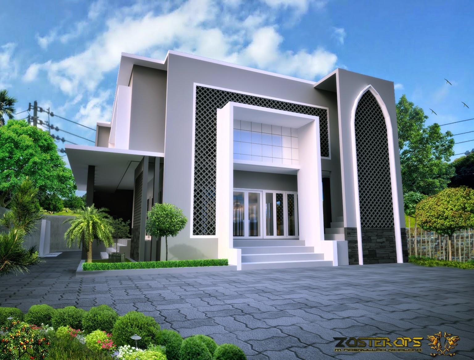 Rencana masjid minimalis di sman 8 cirebon desain for Design minimalis modern