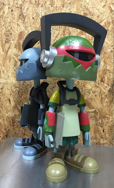 "Boba-Def 24"" Resin Figure by kaNO x ToyQube"