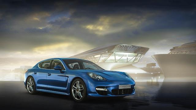 Porsche Panamera Blue