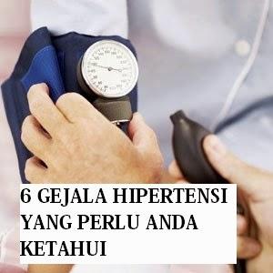 6 Gejala Hipertensi Yang Perlu Anda Ketahui
