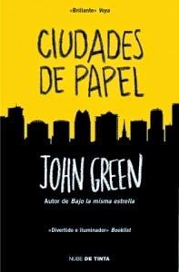Ciudades de papel - Portada