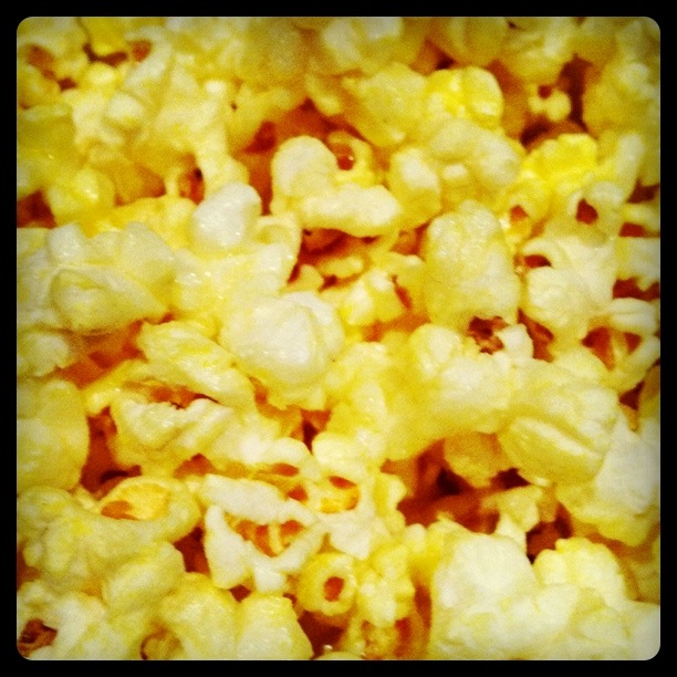 salt butter movie theater popcorn extra butter