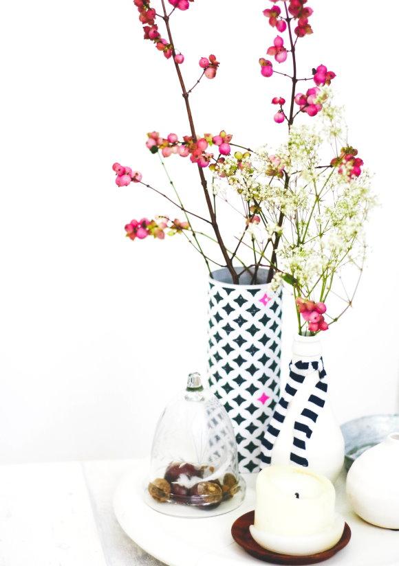 DIY Blumenvase