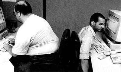 smiješne slike Debeli i mršavi