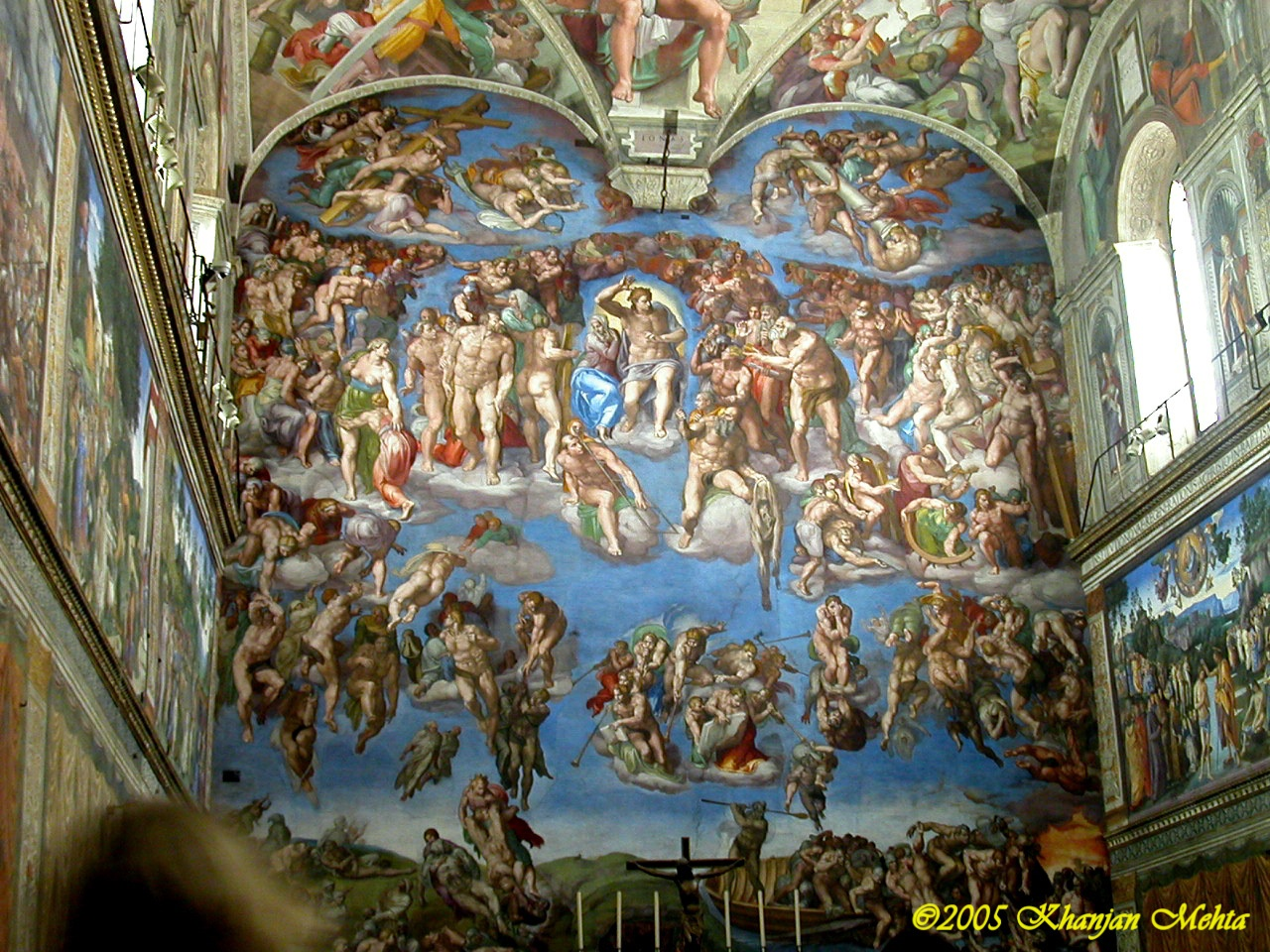 michelangelo and the sistine chapel Michelangelo initially wanted nothing to do with the sistine chapel but he eventually took on the task of painting its altar wall and ceiling.