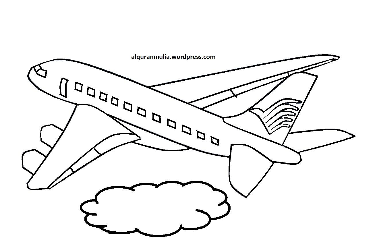 gambar pesawat terbang untuk diwarnai gambar pesawat terbang bergerak gambar pesawat terbang lion air