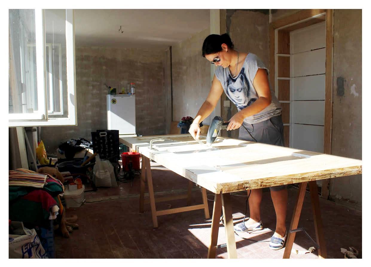 mit herz und schere bauwoche 4 freude und pfusch der terassent r. Black Bedroom Furniture Sets. Home Design Ideas