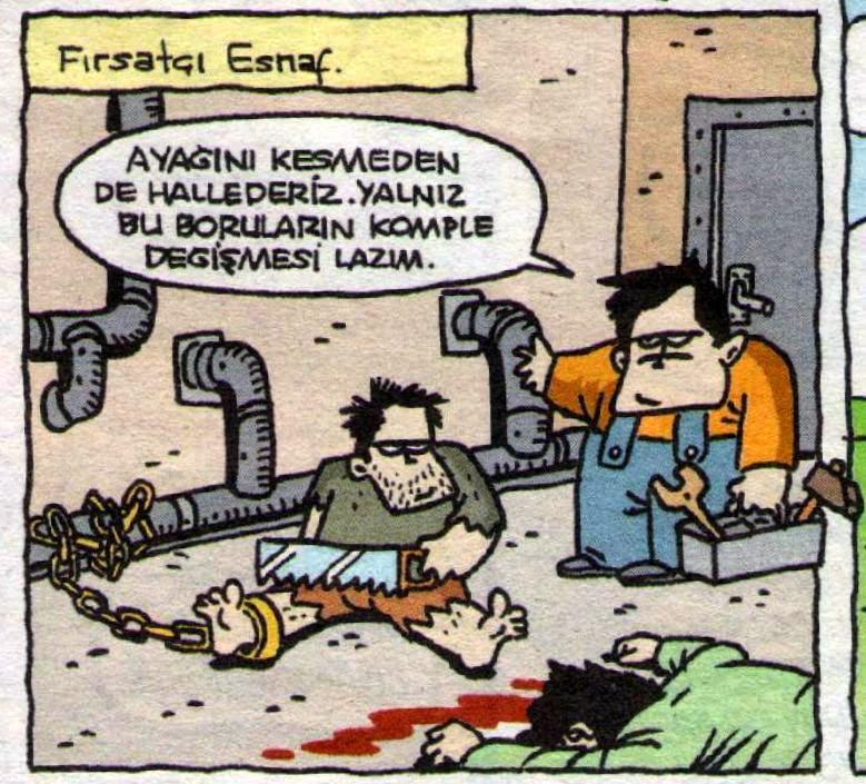 Fırsatçı esnaf karikatürü özer aydoğan