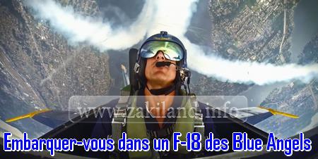 Embarquez-vous dans un F-18 des Blue Angels ( vidéo 360° )