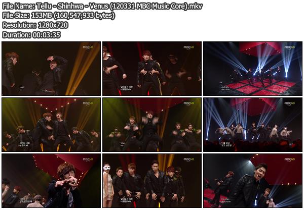[Perf] Shinhwa   Venus @ MBC Music Core 120331