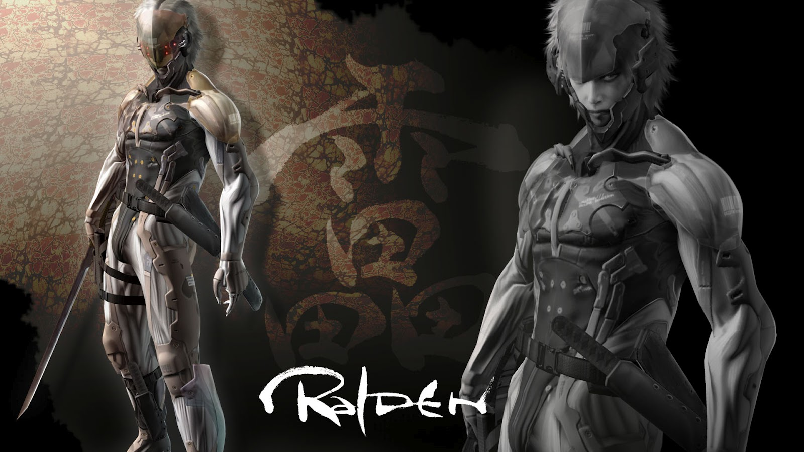 metal gear solid 4 wallpaper 1920 x 1080 raiden 0 Metal Gear Solid 4: Guns of the Patriots Wallpapers in HD