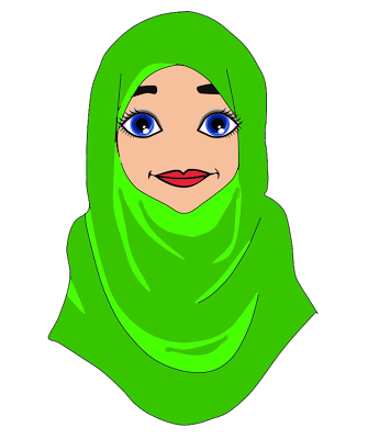 freebies.freebies berhijab, freebies muslimah, kartun muslimah