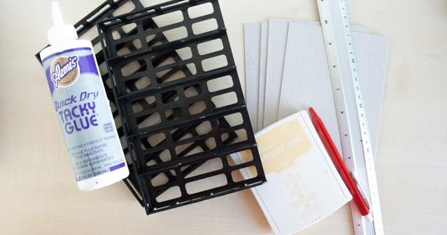 stempel und mehr diy stempelkissenaufbewahrung muss nicht teuer sein. Black Bedroom Furniture Sets. Home Design Ideas
