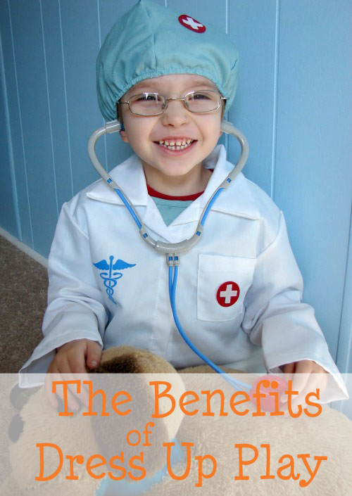 the benefits of dress up play for kids