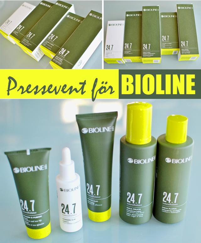 Bioline presenterar 24.7 en ny hudvårdsserie utvecklad utifrån din livsstil.